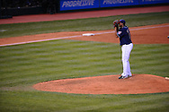 The Seattle Mariners defeated the Cleveland Indians 7-2 on April 29, 2008 at Progressive Field in Cleveland..Pitcher Fausto Carmona of Cleveland.