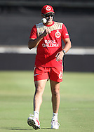 Anil Kumble Cap during the Royal Challengers Bangalore training session held at Kingsmead Stadium in Durban on the 23 September 2010..Photo by: Steve Haag/SPORTZPICS/CLT20.