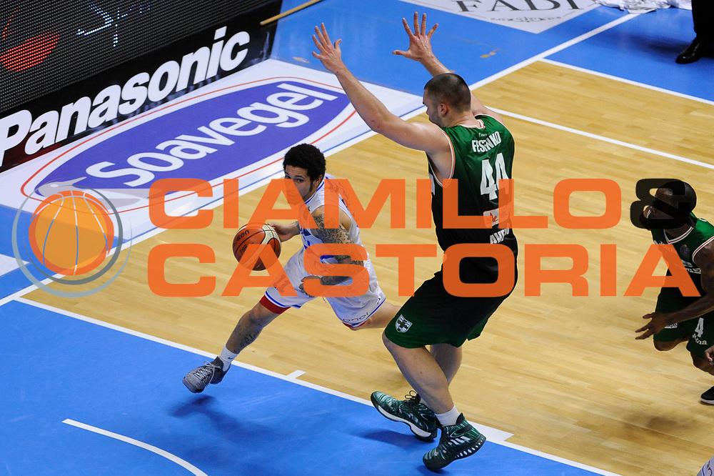 Moore Nic<br /> Enel Brindisi - Sidigas Avellino<br /> Lega Basket Serie A 2016/2017<br /> Brindisi, 26/03//2017<br /> Foto Ciamillo-Castoria