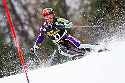 YUASA Naoki of Japan competes during the 1st Run of 10th Men's Slalom - Pokal Vitranc 2013 of FIS Alpine Ski World Cup 2012/2013, on March 10, 2013 in Vitranc, Kranjska Gora, Slovenia. (Photo By Vid Ponikvar / Sportida.com)