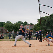 June 9, 2010 - Bronx, NY : The fields at Van Cortlandt Park are finally open to the public again after well over a year of construction.  On June 9, the NYPD turned out to compete in a city-wide charity softball tournament. The 50th precinct squares off agains the SBA.