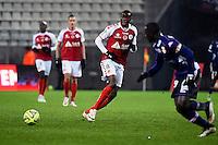 Prince ONIANGUE  - 13.12.2014 - Reims / Evian Thonon  - 18eme journee de Ligue1<br />Photo : Fred Porcu / Icon Sport