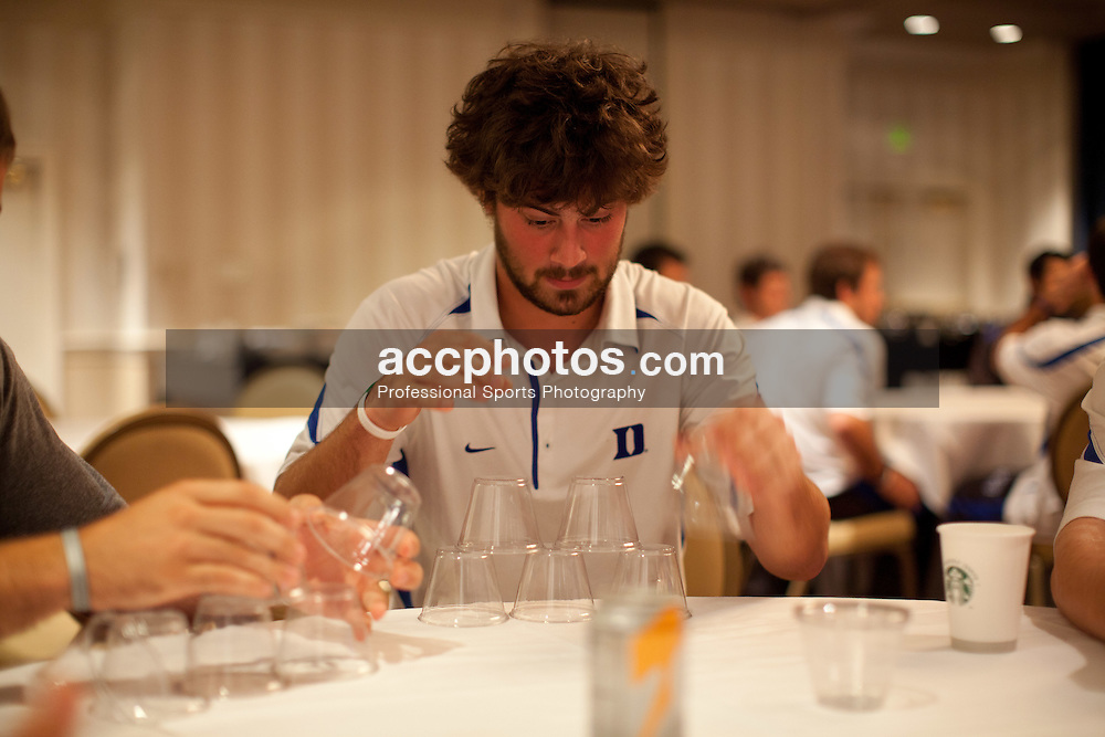 BALTIMORE, MD - MAY 27: Ben Belmont #10 of the Duke Blue Devils plays games on May 27, 2011 at the Sheraton Center City in Baltimore, Maryland.