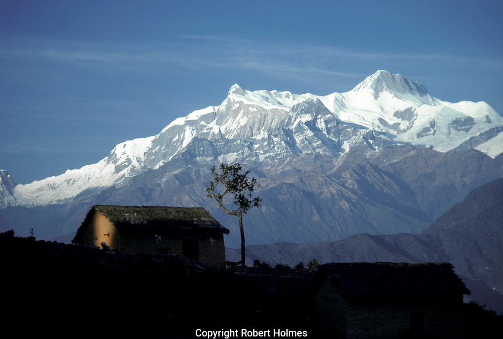Annapurna range, central Nepal