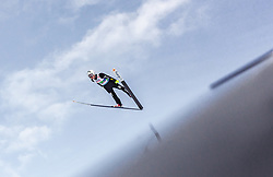 02.03.2019, Seefeld, AUT, FIS Weltmeisterschaften Ski Nordisch, Seefeld 2019, Skisprung, Mixed Team Bewerb, im Bild Sebastian Colloredo (ITA) // Sebastian Colloredo of Italy during the mixed team competition in ski jumping of nordic combination of FIS Nordic Ski World Championships 2019. Seefeld, Austria on 2019/03/02. EXPA Pictures © 2019, PhotoCredit: EXPA/ Stefanie Oberhauser