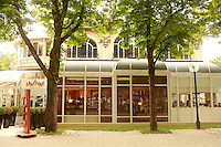 "Lenotre Ecole Culinaire, Paris,..short course - ""Return to the Market"" with Chef Jacky Legras..exterior of Lenotre..photo by Owen Franken for the NY Times..July 12, 2007......."