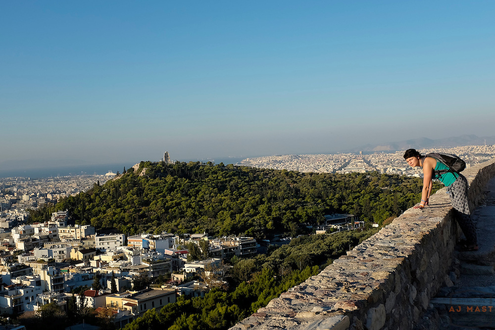 The Acropolis, Athens Greece Wednesday, Oct. 24, 2013.