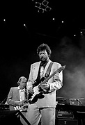 Dire Straits Mark Knopfler with Eric Clapton live at Princes Trust concert 1988