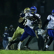 Middletown Running Back Kedrick Whitehead (3) score a 74 yard touchdown in the third quarter Friday, Oct. 09, 2015 at Bernard Stadium in Wilmington, DE.