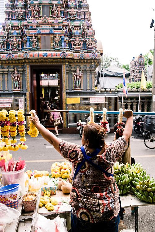 Sri Mariamman temple, Thanon Pan, Bangkok, Thailand