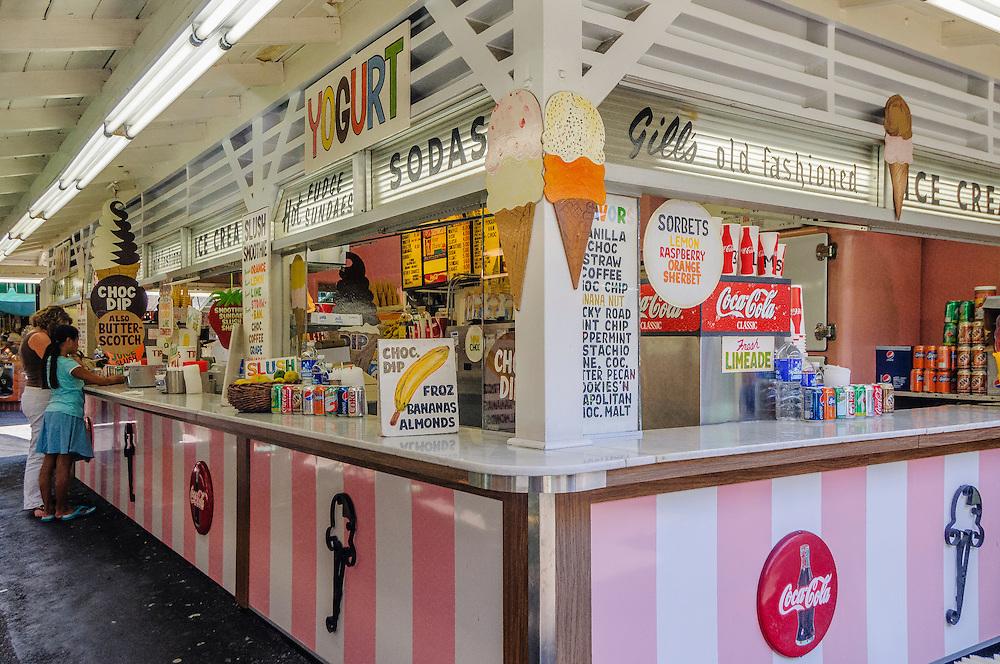 Gill's Old Fashioned Ice Cream, Farmers Market, The Grove, Los Angeles, California