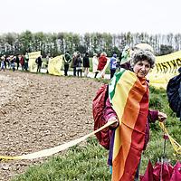 Garzweiler Anti-Kohle Kette