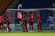 06/10/2017 - St Johnstone v Dundee - Dave Mackay testimonial at McDiarmid Park, Perth, Picture by David Young - Elliott Parish makes a great save