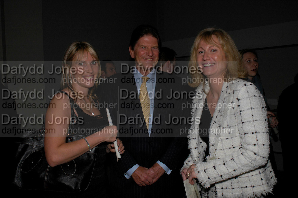 Emma Benyon, John Madejski and Mrs. Paul Myners. The opening of Turks: A Journey of a Thousand Years, 600-1600 - an exhibition of Turkish art.  Royal Academy of Arts, Piccadilly, London ONE TIME USE ONLY - DO NOT ARCHIVE  © Copyright Photograph by Dafydd Jones 66 Stockwell Park Rd. London SW9 0DA Tel 020 7733 0108 www.dafjones.com