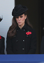 Catherine, Duchess of Cambridge at The Remembrance Day Service at The Cenotaph, Sunday, 13th November 2011 Photo by: Stephen Lock / i-Images