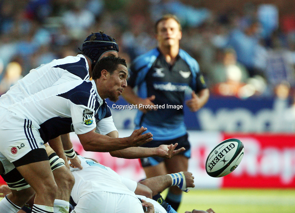 PRETORIA, South Africa, Chris Smylie during the Super 14 match between the Bulls and the Blues held at Loftus Versfeld in Pretoria on the 21 February 2009...Photo by: Barry Aldworth/ SPORTZPICS