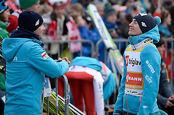 21.03.2014, Planica, Ratece, SLO, FIS Weltcup Ski Sprung, Planica, Grossschanze Herren Einzel, im Bild Kamil Stoch, Kacper Skrobot (L) // Kamil Stoch, Kacper Skrobot (L) during the mens individual large Hill of the FIS Ski jumping Worldcup Cup finals at Planica in Ratece, Slovenia on 2014/03/21. EXPA Pictures © 2014, PhotoCredit: EXPA/ Newspix/ Irek Dorozanski<br /> <br /> *****ATTENTION - for AUT, SLO, CRO, SRB, BIH, MAZ, TUR, SUI, SWE only*****