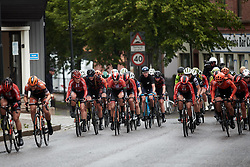 Floortje Mackaij (NED), Hannah Barnes (GBR) and Amalie Dideriksen (DEN) during Ladies Tour of Norway 2019 - Stage 1, a 128 km road race from Åsgårdstrand to Horten, Norway on August 22, 2019. Photo by Sean Robinson/velofocus.com