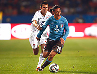 Mauro Camoranesi of Italy and Juventus FIFA Confederations Cup South Africa 2009 <br /> United States of America  v Italy at Loftus Versfeld  Stadium Tshwane/Pretoria South Africa<br /> 15/06/2009 Credit Colorsport / Kieran Galvin