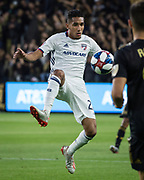 FC Dallas forward Jesus Ferreira (27) in action during a MLS soccer match against the LAFC in Los Angeles, Thursday, May 16, 2019. LAFC defeated FC Dallas 2-0.  (Ed Ruvalcaba/Image of Sport)