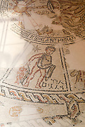 Israel, Galilee, Zippori National Park A mishnaic-period city with an abundance of mosaics. The Zodiac mosaic on the synagogue floor