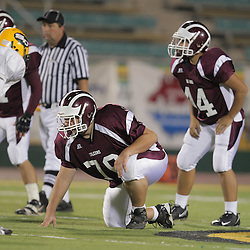 31 October, 2008: St. Thomas Aquinas OT/DT Laird Regan (#79) The St. Thomas Falcons recorded their first shut out of the season with a 41-0 shutout of the Southern Lab Kittens at Strawberry Stadium in Hammond, LA.
