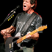 NEW YORK - SEPTEMBER 28:   Singer Lou Reed onstage during the &quot;Soul To Soul&quot;: From The Heart Of NY To The Heart Of New Orleans concert in Central Park on September 28, 2005 in New York City.  <br /> (Photo by Fernando Leon/Getty Images)