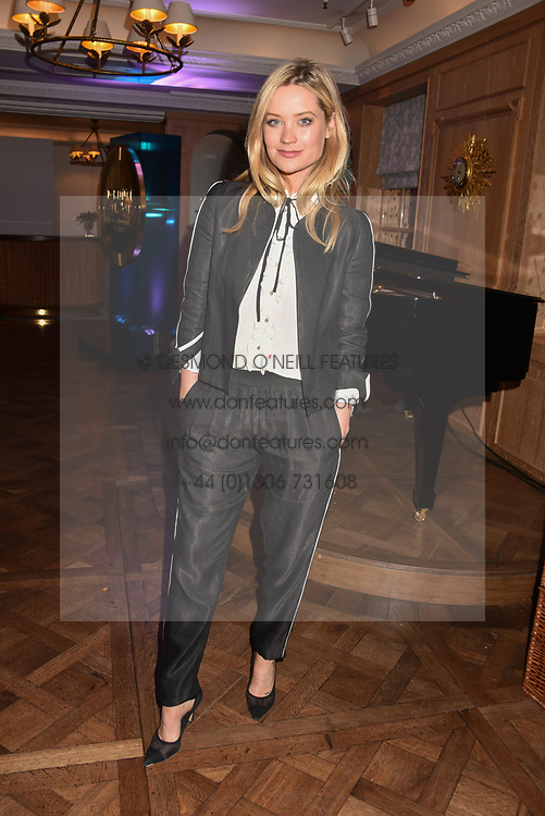 Laura Whitmore at the Fortnum & Mason Food and Drink Awards, Fortnum & Mason Food and Drink Awards, London, England. 10 May 2018.