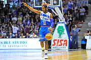 DESCRIZIONE : Campionato 2013/14 Dinamo Banco di Sardegna Sassari - Enel Brindisi<br /> GIOCATORE : Jerome Dyson<br /> CATEGORIA : Palleggio Schema Mani<br /> SQUADRA : Enel Brindisi<br /> EVENTO : LegaBasket Serie A Beko 2013/2014<br /> GARA : Dinamo Banco di Sardegna Sassari - Enel Brindisi<br /> DATA : 11/05/2014<br /> SPORT : Pallacanestro <br /> AUTORE : Agenzia Ciamillo-Castoria / Luigi Canu<br /> Galleria : LegaBasket Serie A Beko 2013/2014<br /> Fotonotizia : Campionato 2013/14 Dinamo Banco di Sardegna Sassari - Enel Brindisi<br /> Predefinita :