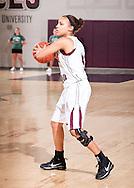 December 12, 2009: The Oklahoma Wesleyan University Lady Eagles play against the Oklahoma Christian University Lady Eagles at the Eagles Nest on the campus of Oklahoma Christian University.