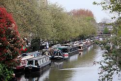 UK ENGLAND LONDON 2MAY16 - London Canal boats  during the Cavalcade at Little Venice, Maida Vale, west London.<br /> <br /> jre/Photo by Jiri Rezac<br /> <br /> © Jiri Rezac 2016