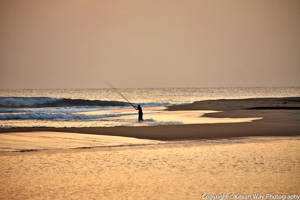 sunrise fishing at Arugam Bay Sri Lanka