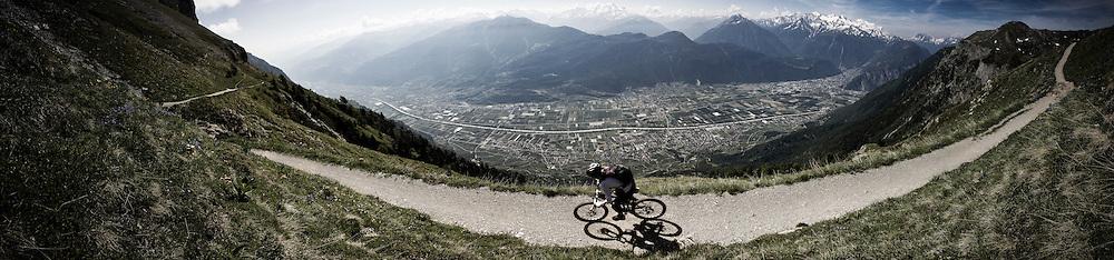 Rider Myriam Saugy Location Valais (Switzerland)