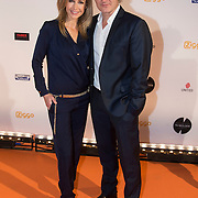 NLD/Amsterdam/20140303 - Uitreiking TV Beelden 2014, Wendy van Dijk en partner Erland Galjaard