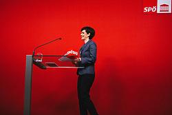 02.03.2020, Parlamentsklub, Wien, AUT, SPOe, Pressekonferenz mit Rendi-Wagner zum Start der großen SPOe-Mitgliederbefragung, im Bild Pamela Rendi-Wagner (SPOe) // SPOe leader Pamela Rendi-Wagner during press conference on the start of the large SPOe member survey at the Parteizentrale parliamentary Club in Vienna, Austria on 2020/03/03. EXPA Pictures © 2020, PhotoCredit: EXPA/ Florian Schroetter