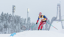 21.02.2016, Salpausselkae Stadion, Lahti, FIN, FIS Weltcup Langlauf, Lahti, Herren Skiathlon, im Bild Martin Johnsrud Sundby (NOR) // Martin Johnsrud Sundby of Norway competes during Mens Skiathlon FIS Cross Country World Cup, Lahti Ski Games at the Salpausselkae Stadium in Lahti, Finland on 2016/02/21. EXPA Pictures © 2016, PhotoCredit: EXPA/ JFK