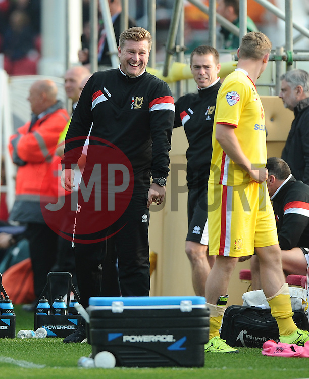 Milton Keynes Dons Manager    - Mandatory byline: Joe Meredith/JMP - 07966 386802 - 03/10/2015 - FOOTBALL - Ashton Gate - Bristol, England - Bristol City v MK Dons - Sky Bet Championship