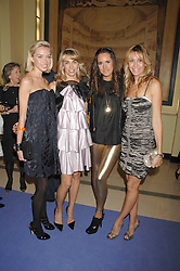 Left to right, NOELLE RENO, ASSIA WEBSTER, LOUISE ROE and MELISSA ODABASH at the 10th Anniversary Party of the Lavender Trust, Breast Cancer charity held at Claridge's, Brook Street, London on 1st May 2008.<br />