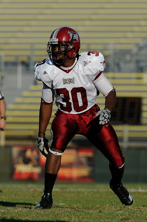 December 4, 2010: LaDarrius Madden of the Troy Trojans in action during the NCAA football game between Troy and the Florida Atlantic Owls. The Trojans defeated the Owls 44-7.