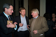 CHARLES GLASS; SEBASTIAN SHAKESPEARE; STANLEY JOHNSON, Vanity Fair, Baroness Helena Kennedy QC and Henry Porter launch ' The Convention on Modern Liberty'. The Foreign Press Association. Carlton House Terrace. London. 15 January 2009