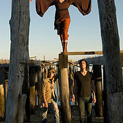 Bitch and The Exciting Conclusion..Bitch.Lee Frisari.Gabe Kubitz..October 7, 2007..photographed in Provincetown, Massachusetts..photo by Angela Jimenez