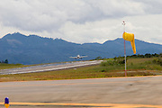 Manhuacu_MG, Brasil...Reforma e ampliacao do aeroporto de Manhuacu...The expansion works in Manhuacu airport...Foto: BRUNO MAGALHAES / NITRO