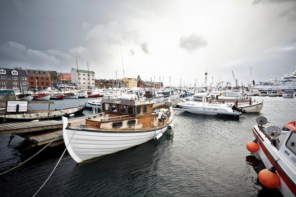 Boats in Torshavn