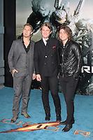Isaac Hanson; Taylor Hanson; Zac Hanson, Pacific Rim European Film Premiere, BFI IMAX Waterloo, London UK, 04 July 2013, (Photo by Richard Goldschmidt)