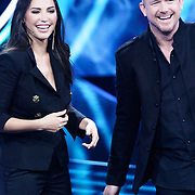 NLD/Amsterdam/20181025 - Finale The Talent Project 2018, Johnny de Mol en Yolanthe Sneijder-Cabau