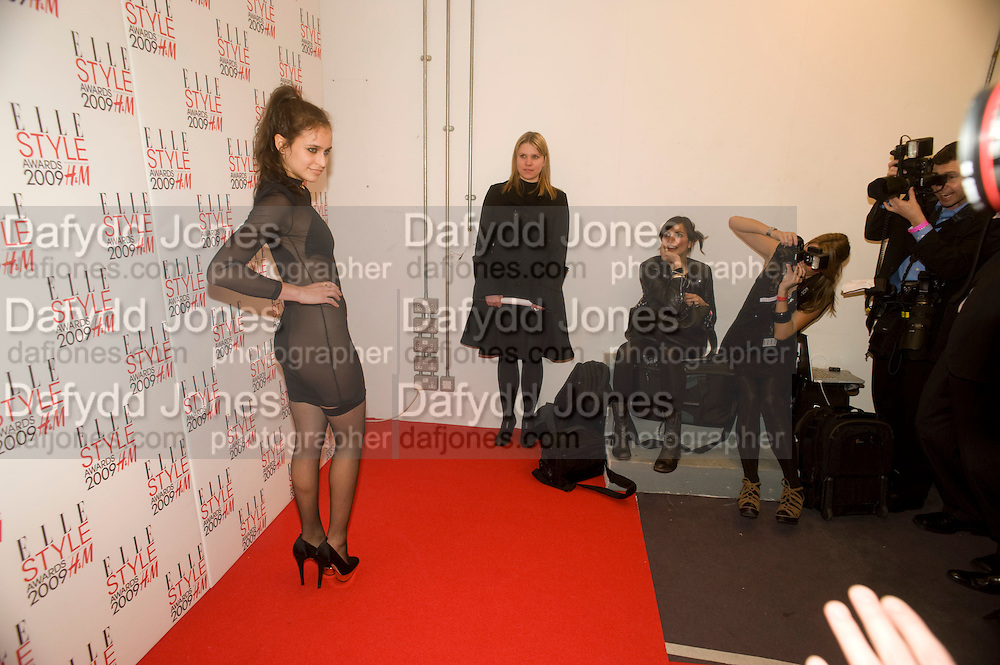 ALICE DELLAL, The Elle Style Awards 2009, The Big Sky Studios, Caledonian Road. London. February 9 2009.  *** Local Caption *** -DO NOT ARCHIVE -Copyright Photograph by Dafydd Jones. 248 Clapham Rd. London SW9 0PZ. Tel 0207 820 0771. www.dafjones.com<br /> ALICE DELLAL, The Elle Style Awards 2009, The Big Sky Studios, Caledonian Road. London. February 9 2009.