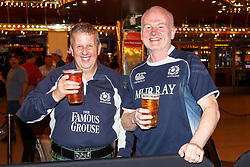 February 28, 2019 - U.S. - LAS VEGAS, NV - MARCH 01: Scottish fans at the all nations parade the evening before the USA Rugby Sevens held March 1-3, 2019 at Sam Boyd Stadium in Las Vegas, NV. (Photo by Allan Hamilton/Icon Sportswire) (Credit Image: © Allan Hamilton/Icon SMI via ZUMA Press)