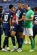 Kylian Mbappe of PSG gets injured and will leave the pitch during the French Cup final football match between Paris Saint-Germain (PSG) and Saint-Etienne (ASSE) on Friday 24, 2020 at the Stade de France in Saint-Denis, near Paris, France - Photo Juan Soliz / ProSportsImages / DPPI