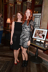 MORWENNA LYTTON COBBOLD and her mother MARTHA LYTTON COBBOLD at Models and Mothers Private View, a photographic exhibition in aid of Breakthrough Breast Cancer held at The Gilbert Scott, St Pancras Renaissance Hotel, London, NW1 on 7th October 2013.