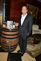 MICHAEL MELDMAN at the London launch of Casamigos Tequila hosted by Rande Gerber, George Clooney & Michael Meldman and to celebrate Cindy Crawford's new book 'Becoming' held at The Beaumont Hotel, Brown Hart Gardens, 8 Balderton Street, London on 1st October 2015.